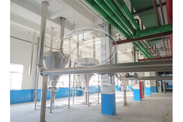 GPM pharmaceutical grade flash dryer (dipyrone) Production Line